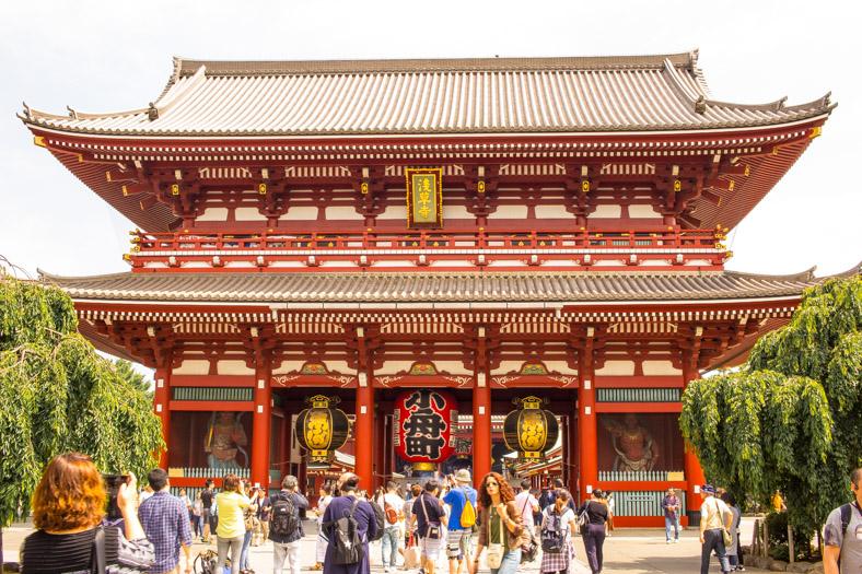 2 day Tokyo Itinerary - asakusa