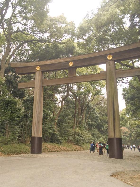 2 day Tokyo Itinerary - meiji shrine gate