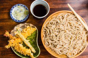 2 day Tokyo Itinerary - soba in asakusa