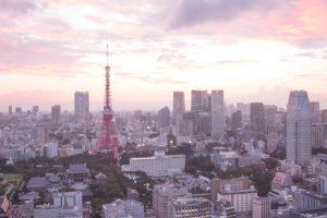2 day Tokyo Itinerary - tokyo skyline