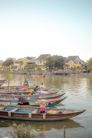 Best places to stay in hoi an - boat