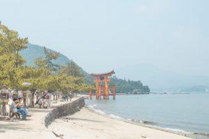 Miyajima itinerary - torii gate 3