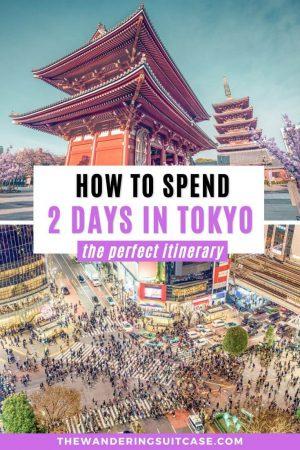 2 day Tokyo itinerary Japan