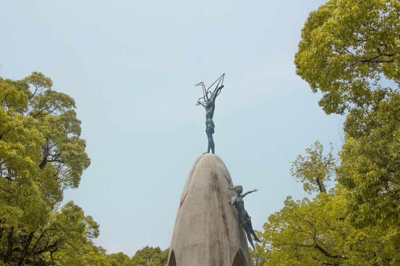 Hiroshima Itinerary - childrens monument