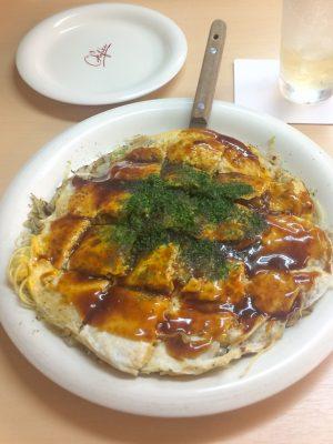 Hiroshima Itinerary - okonomiyaki