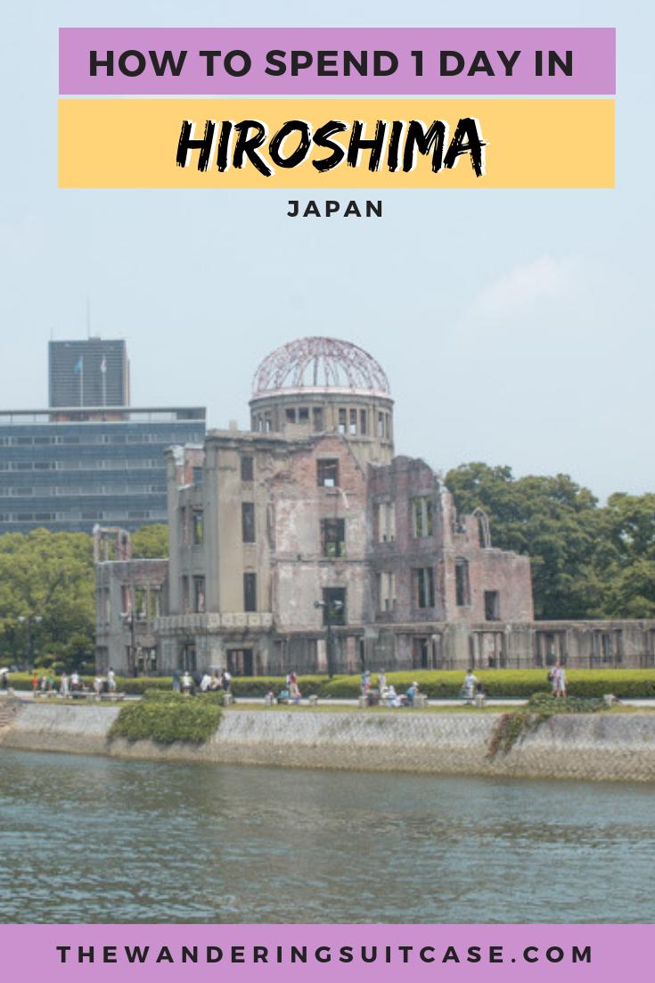Hiroshima Itinerary - pinterest dome