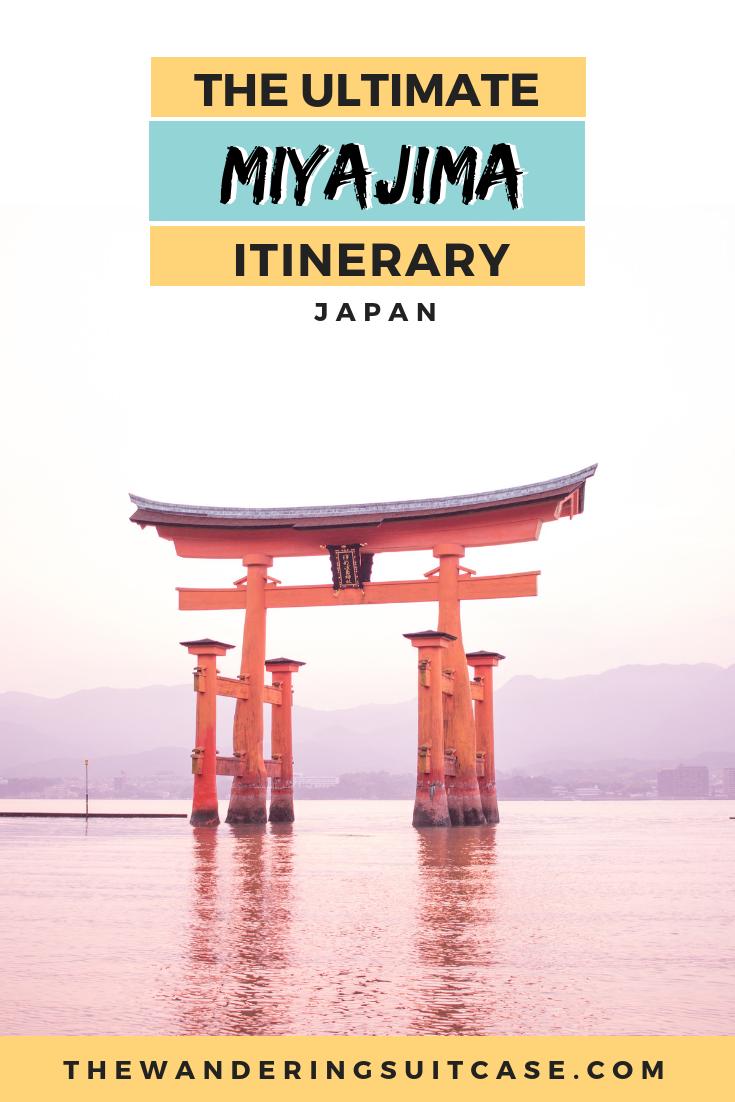 Miyajima itinerary - PINTEREST