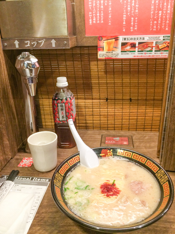 things to know before going to Japan - ramen