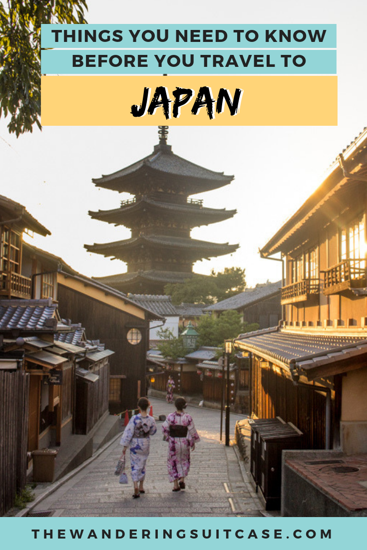 things to know before going to Japan