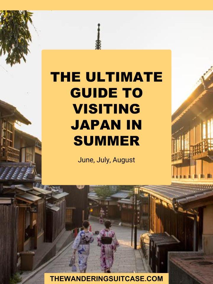 Japan Summer Guide