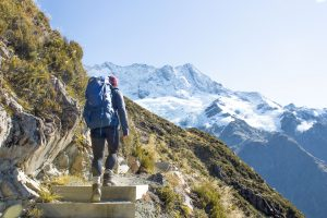 Hiking in Mt Cook / Aoraki NZ