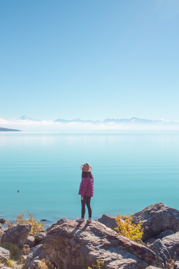 Instagram Spots in New Zealand's South Island - Lake Pukaki lookout