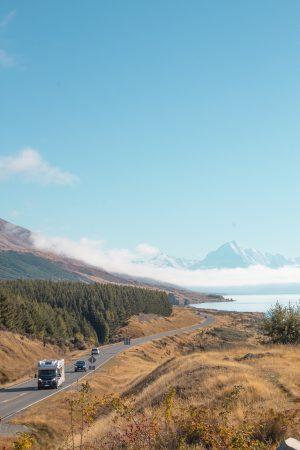 Instagram Spots in New Zealand's South Island - Lake Pukaki view