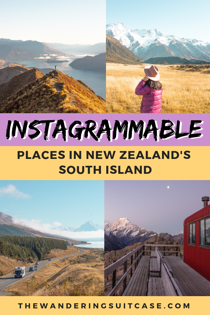 Instagram Spots in New Zealand's South Island - Pinterest