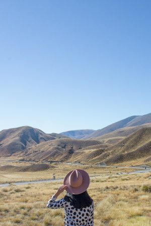 Instagram spots in New Zealand's South Island - Lindis Pass