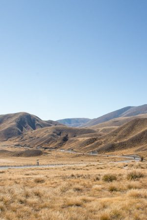 Instagram spots in New Zealand's South Island - Lindis Pass Viewpoint