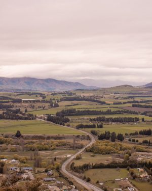 Instagram spots in New Zealand's South Island - Mt Iron View
