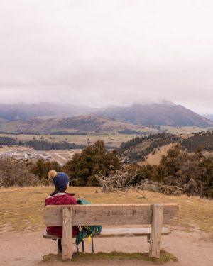 Instagram spots in New Zealand's South Island - Mt Iron Walk