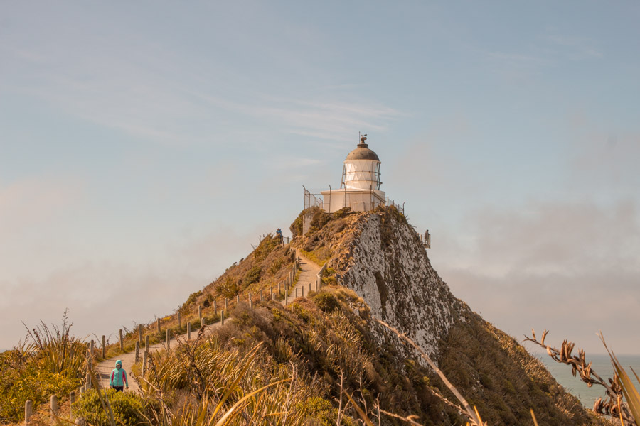 Instagram spots in New Zealand's South Island - Nugget Point LIghthouse