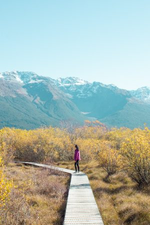 New Zealand on a budget - glenorchy