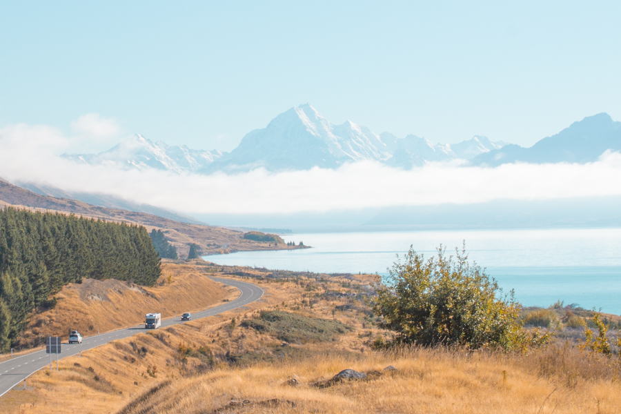 New Zealand on a budget - pukaki