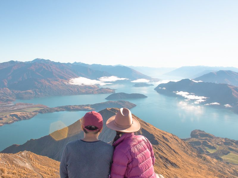 New Zealand on a budget - roys peak