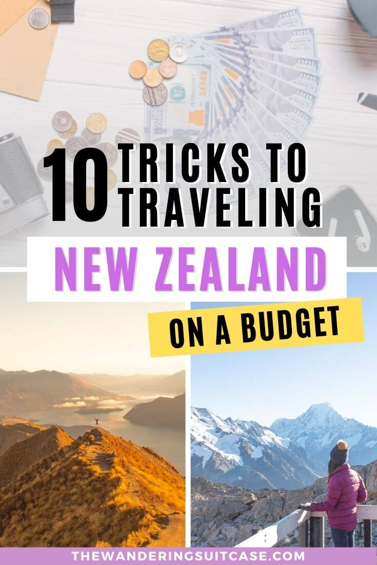 Tips for traveling New Zealand on a budget