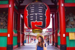 Instagrammable places in Tokyo - sensoji