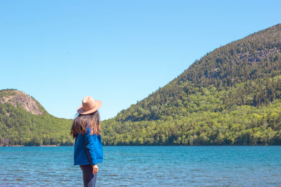 acadia national park itinerary - jordan pond