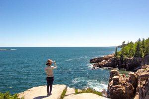 acadia national park itinerary - views