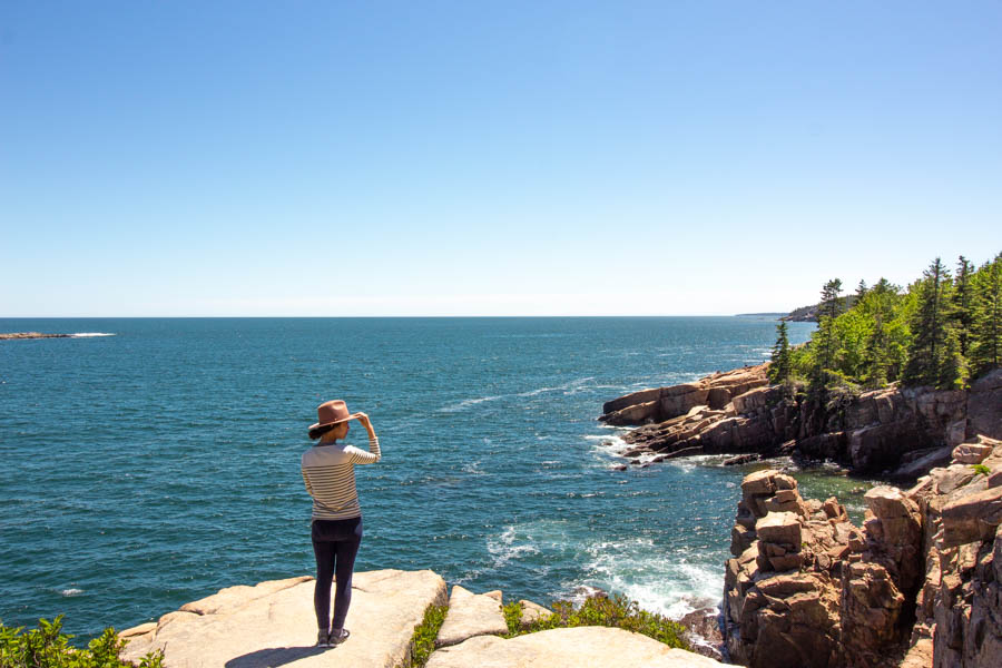 acadia national park itinerary - views
