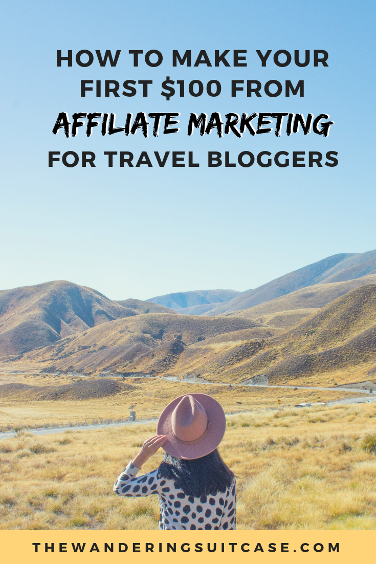 affiliate marketing for travel bloggers