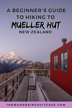 hiking Mueller Hut for beginners