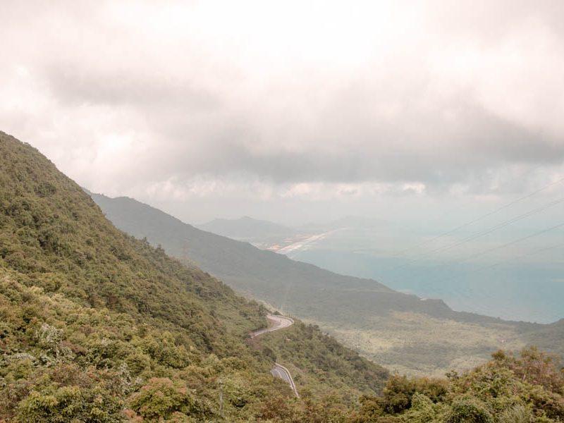 hue to hoi an - Hai Van Pass view