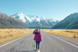 things to know before you go to New Zealand - Aoraki road