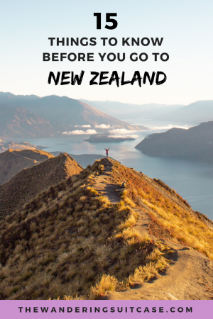 things to know before you go to New Zealand - drive to roys peak