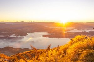 things to know before you go to New Zealand - sunrise at Roys Peak
