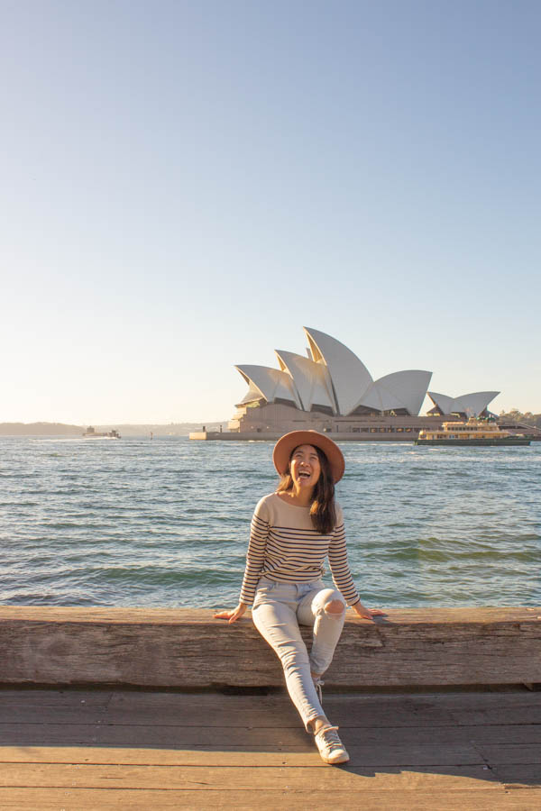 4 days in Sydney - Opera House Circular Quay