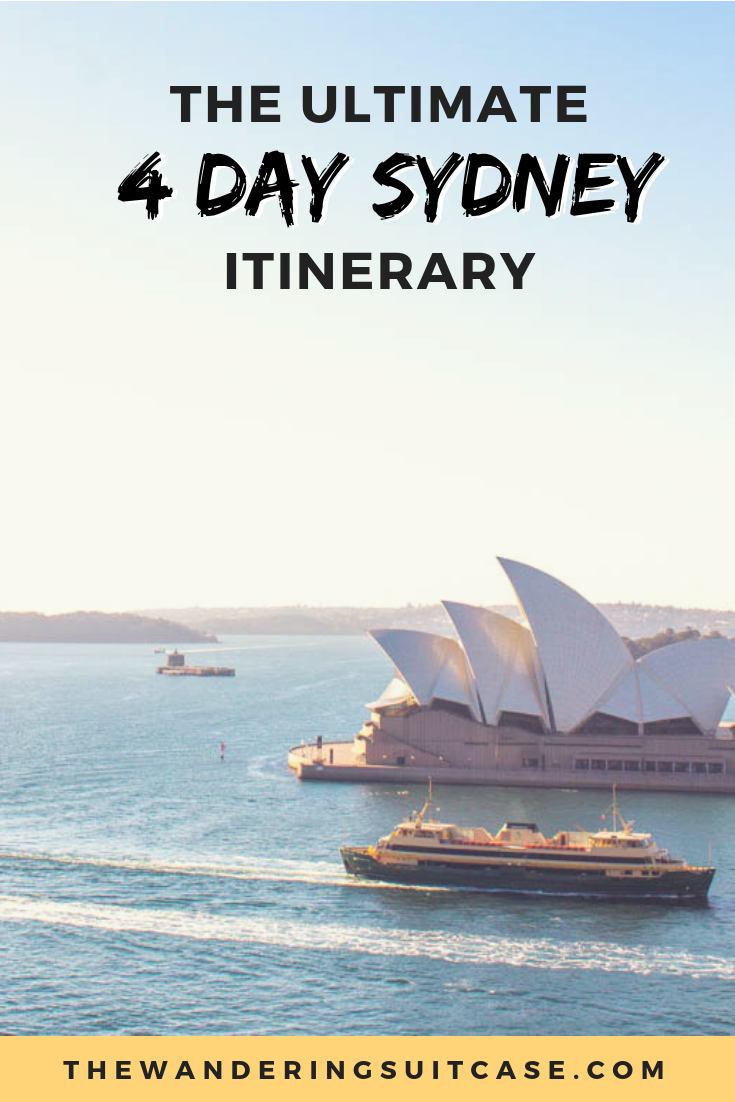 4 days in Sydney - pinterest image1
