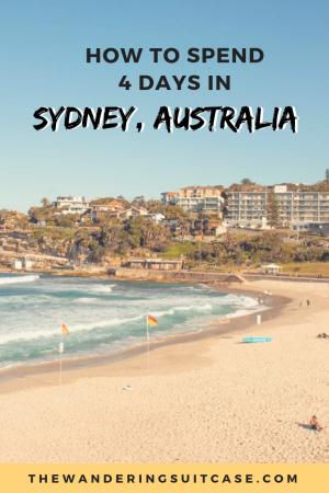 4 days in Sydney - pinterest image2
