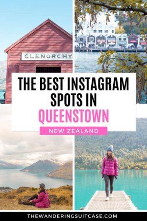 Instagram spots Queenstown New Zealand