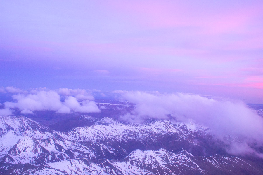 Instagram spots in Queenstown - View from Plane