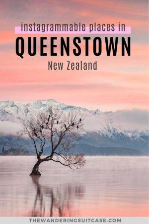Instagrammable places in Queenstown New Zealand