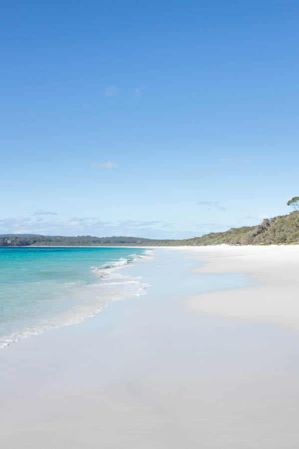 Things to do in Jervis Bay in Winter - Hyams beach white sand