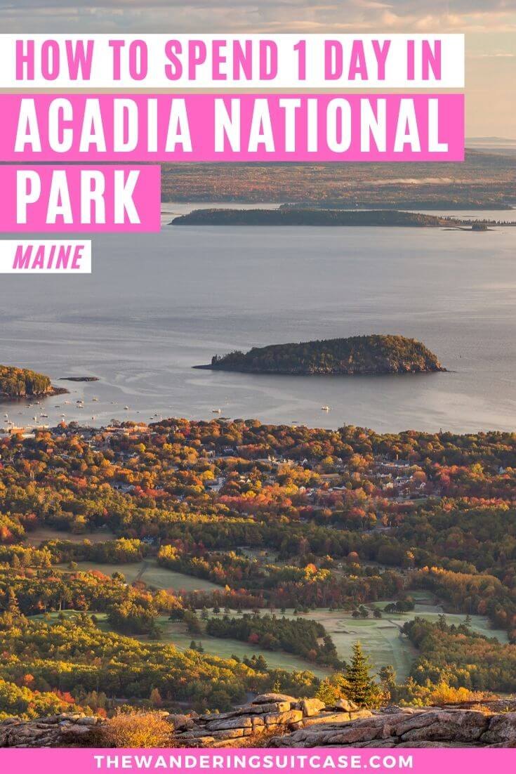 1 day in Acadia National Park