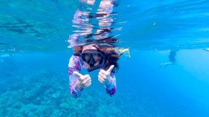 3 day Maui itinerary - snorkeling selfie