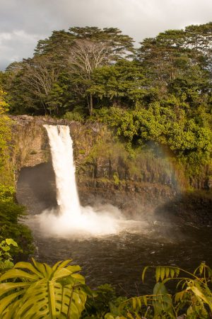Initial thoughts Hawaii - Rainbow Falls