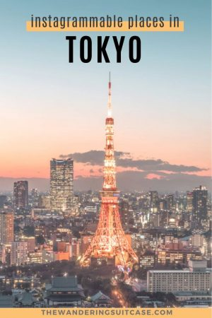 Instagrammable places in Tokyo