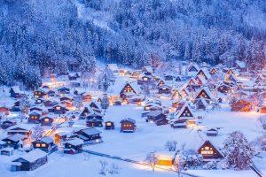 Bucket list experiences Shirakawago