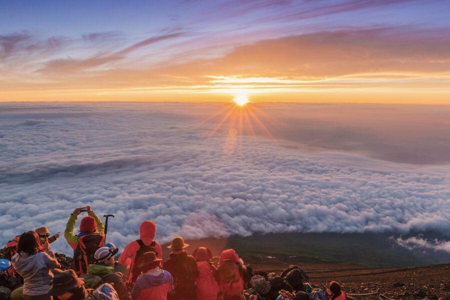 Bucket list experiences Tokyo- Mt Fuji at Sunrise